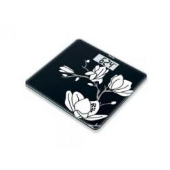 Beurer GS211 Magnolia Personenweegschaal Zwart Glas