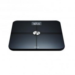 Withings Smart Body Analyzer Zwart - WS-50, Analyse-Weegschaal